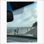R134海沿いをドライブ