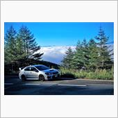 高峰高原チェリーパークラインの雲海とツーリングオフの様子