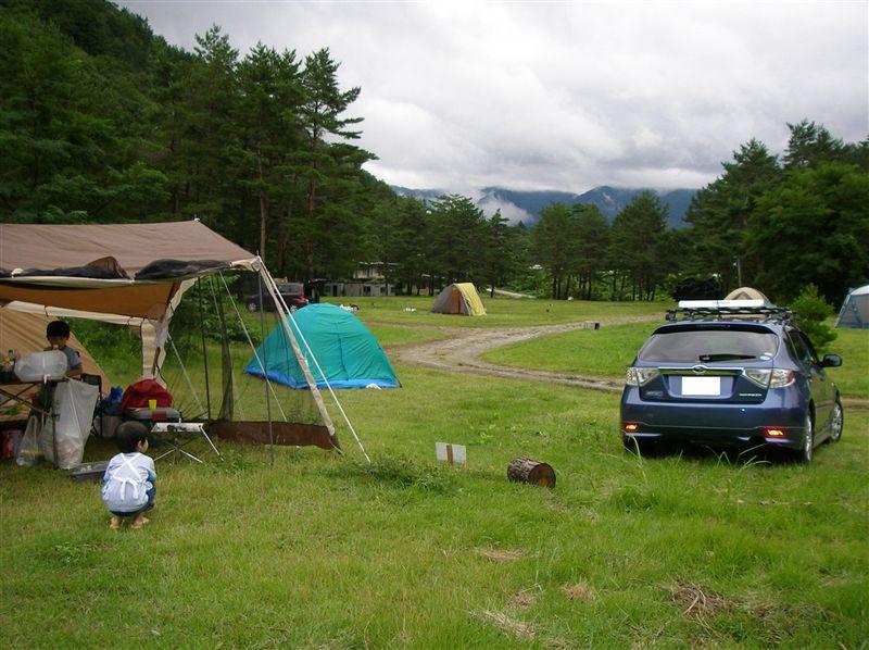 キャンプ 白馬 場 オート アルプス