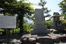 伝説「人柱お静」の慰霊碑