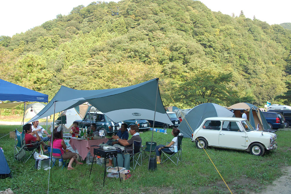 キャンプ 場 青根