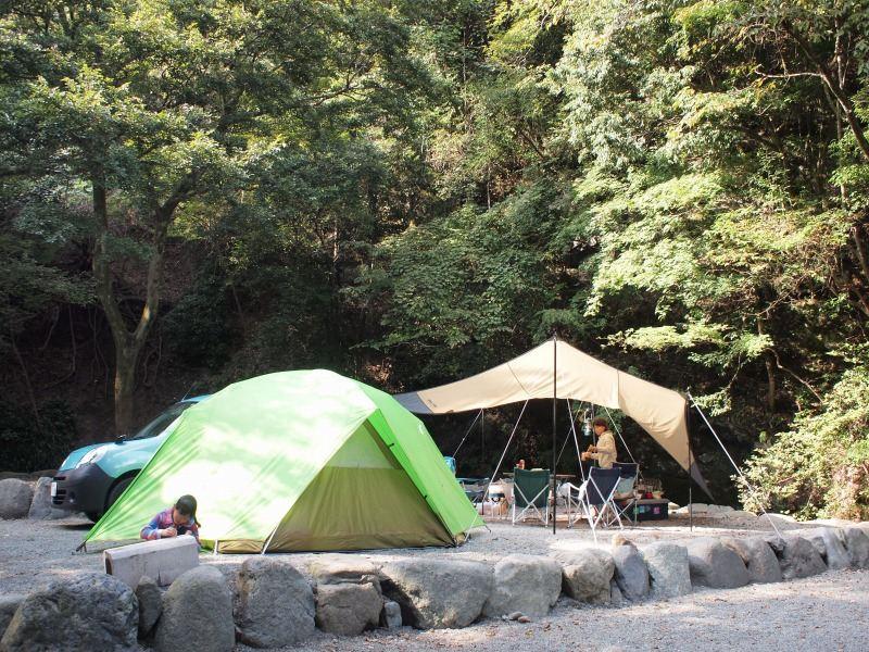 キャンプ の 山梨 志村 場 道 両国橋キャンプ場 湯川屋