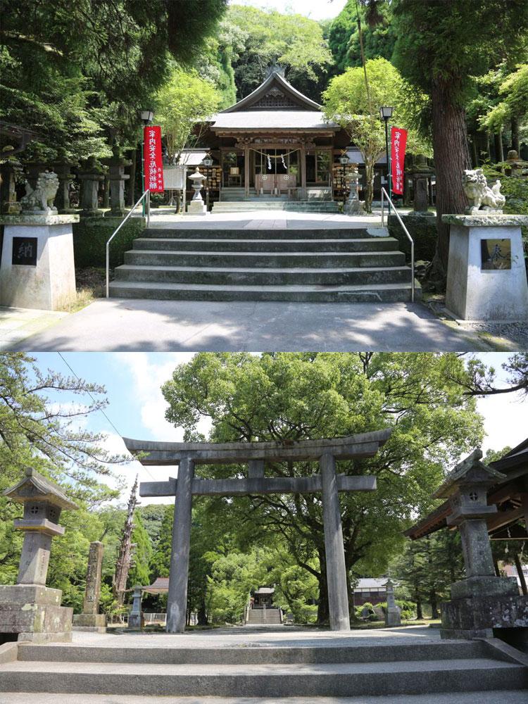 徳重神社(日置市・旧伊集院町)...
