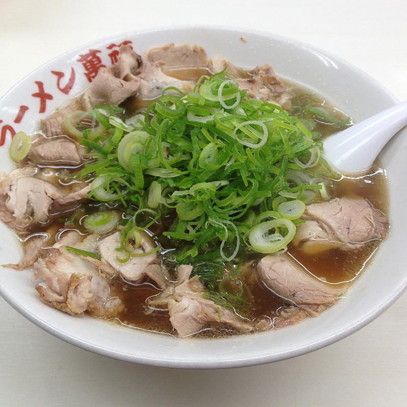 ラーメン 萬福 京都駅前 チャーシュー麺
