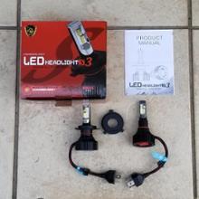 スカイウェイブ250 タイプMAUTO WORLD LEDヘッドライト(H4)の全体画像