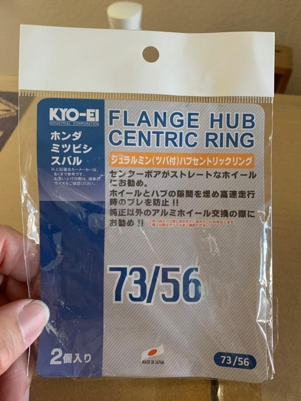 KYO-EI / 協永産業 HUB CENTRIC RING 73/56