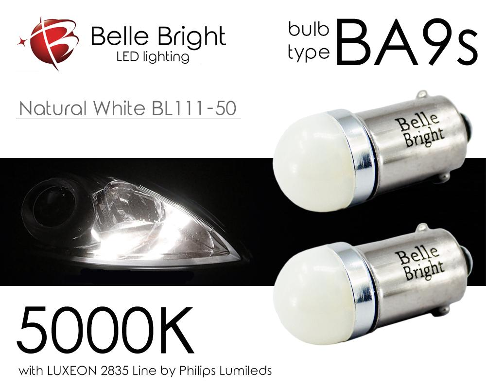 不明 BA9s LED 白 -Natural White BL111-50- G14 ポジション 5000K Philips Lumiled