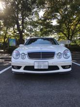 AMG E55Carlsson RSカーボンフロントリップスポイラーの全体画像