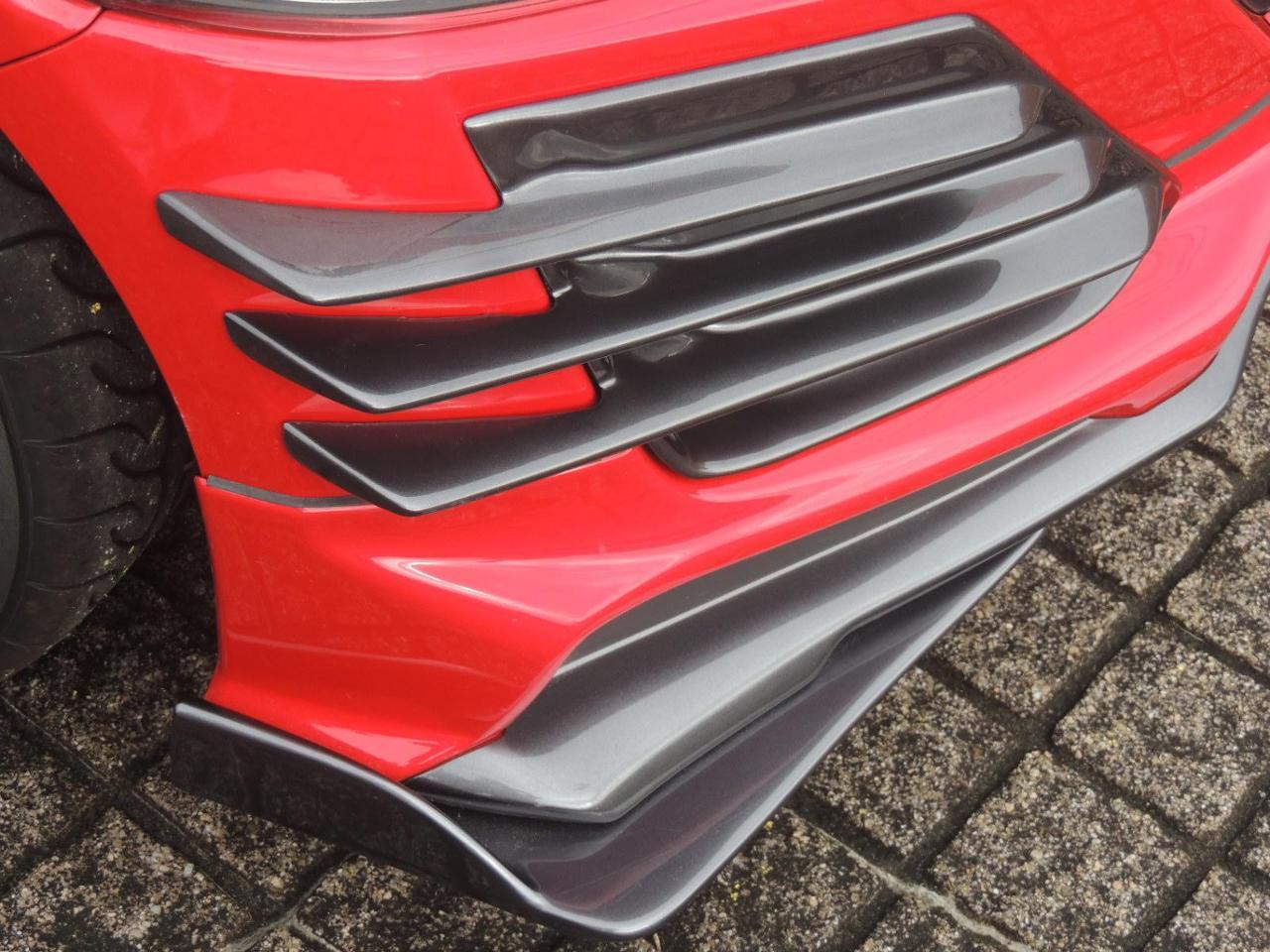 自作 S660無限フロントアンダー装着車用フロントガーニッシュSタイプ
