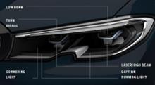 3シリーズ ツーリングBMW(純正) レーザーライトの全体画像