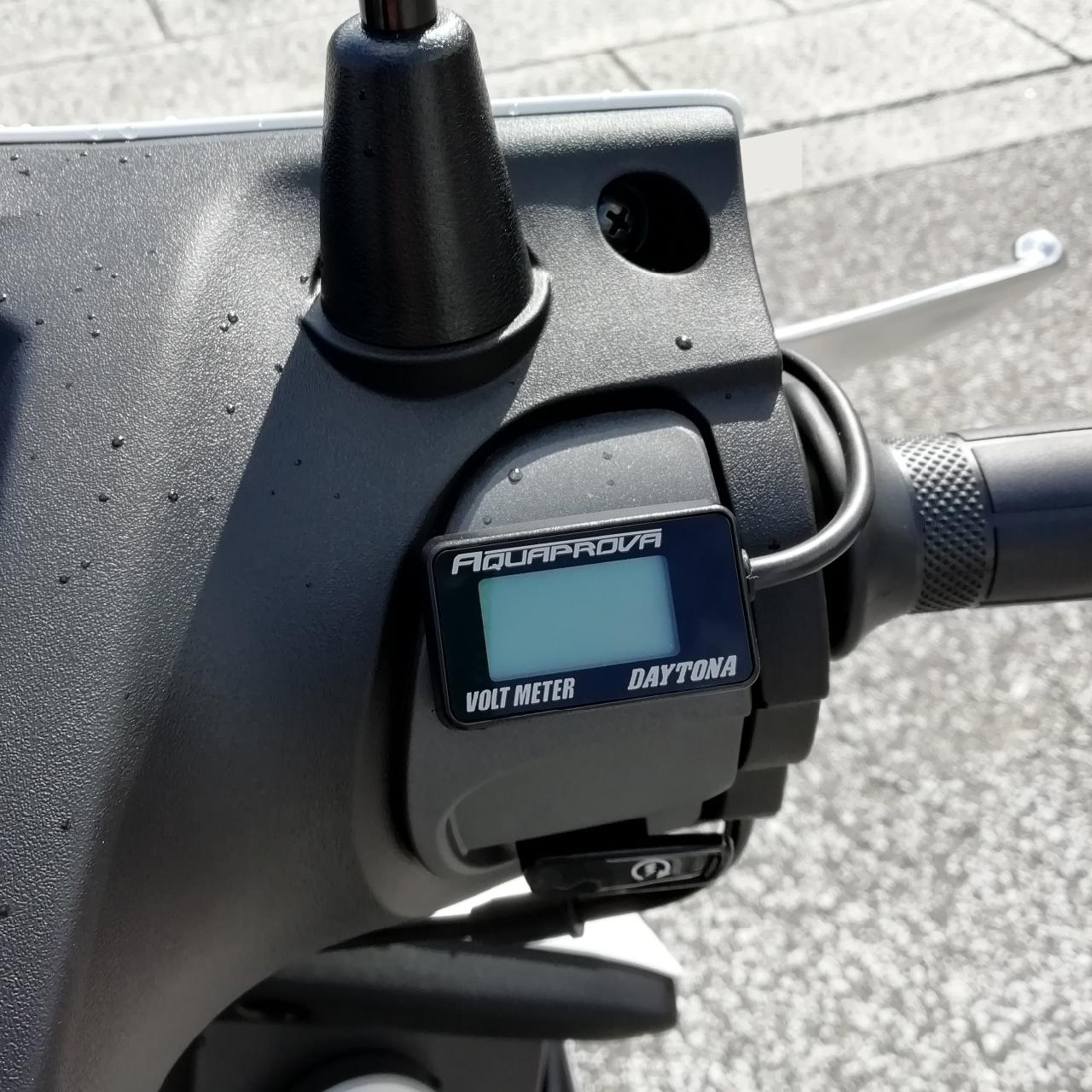 DAYTONA(バイク) AQUAPROVA コンパクトボルトメーター