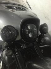 CVOリミテッドHARLEY-DAVIDSON 7インチ・デーメーカー・アダプティブLEDヘッドランプの単体画像