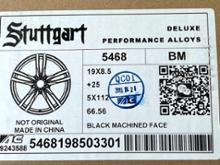 5シリーズ セダンStuttgart BMW用19インチホイール B-5468の全体画像