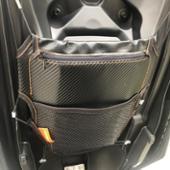 DAYTONA(バイク) メットインポケット カーボン調 Mサイズ