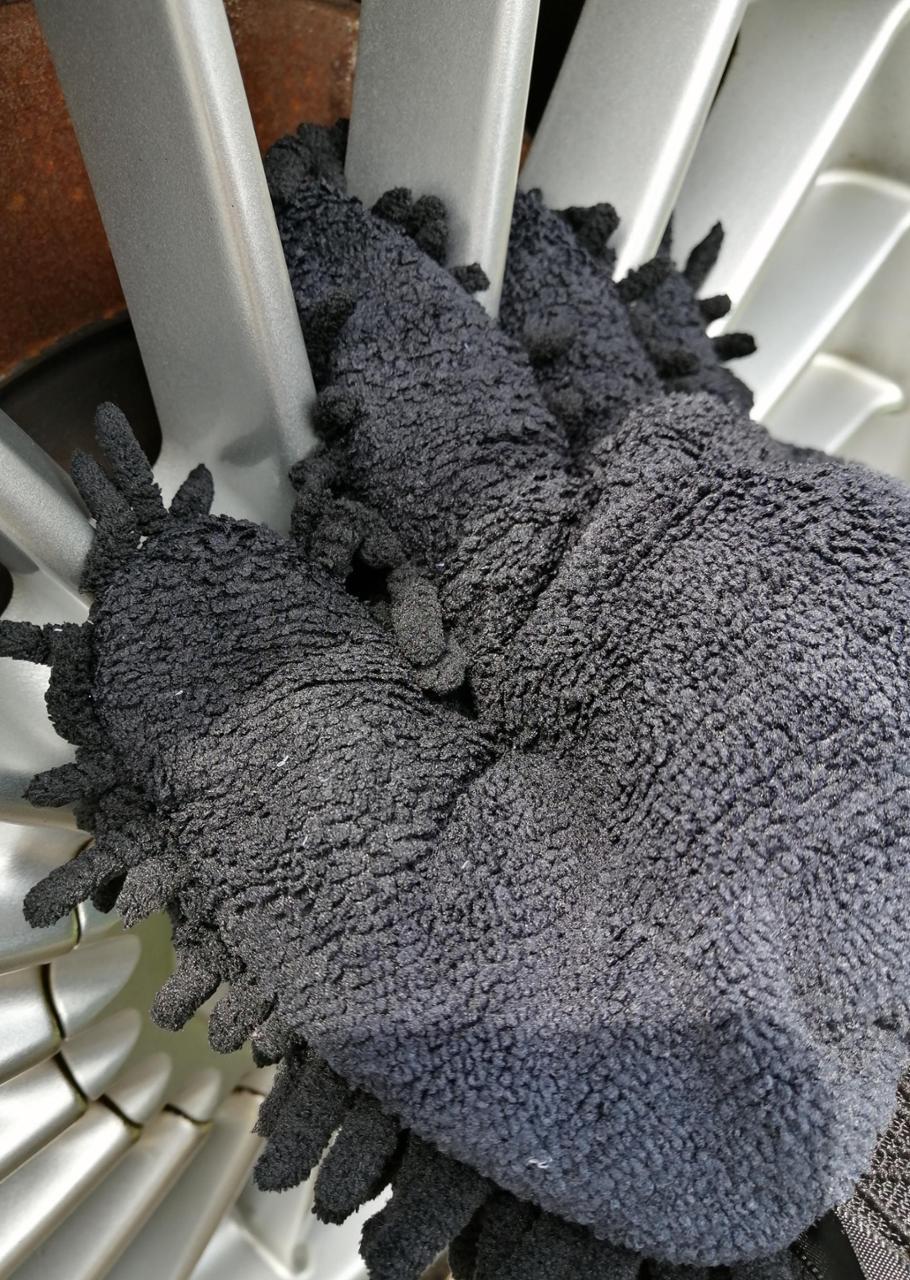 自作 洗車専用グローブ ゴリラの手