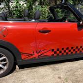 不明 BMW MINI サイド ボディーステッカー デカール