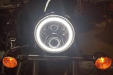 マグナ 750ノーブランド LED イカリング ヘッドライトの全体画像
