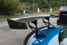 M2 クーペ3D Design Racing Wing (with Extension Stay)の全体画像