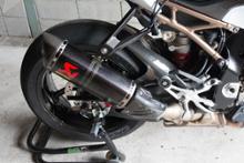 S1000RRAKRAPOVIC Slip-On Exhaust Systemの全体画像