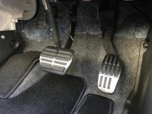 shanze Stainless Steel Gas Brake Pedal For Nissan X-Trail Xtrail T32