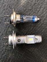 ニンジャ250SUPAREE H7 LEDヘッドライト 12000LM 40W  6000K ファンレスの全体画像
