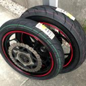 DURO HF918 110/70-17、140/70-17 前後セット