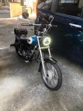ジャズ(バイク)中華 ハーレー風5.75インチLEDヘッドライトの全体画像