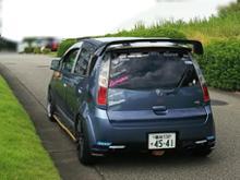 コルト三菱自動車(純正) ランサーエボリューションⅩ 純正リヤスポイラーの全体画像