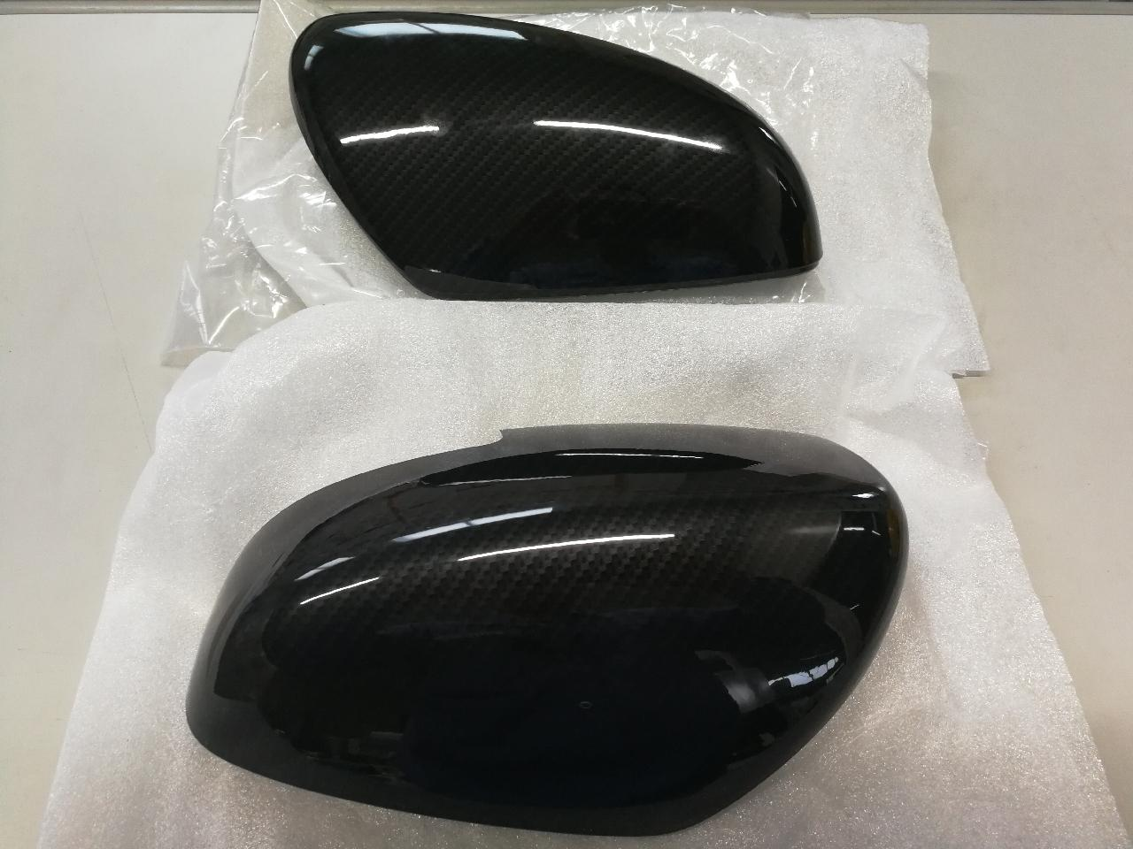 REIZ TRADING ブラックカーボンミラーカバー