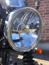 CB223S汎用 160mmヘッドライト ガラスの単体画像