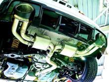RS3 スポーツバックREMUS スポーツラベルマフラーの単体画像