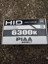 PIAA select HIDオールインワン 6300K H4(H/L) / HHS21A
