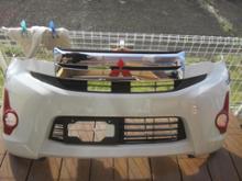 eKカスタム三菱自動車(純正) EKカスタム フロントバンパーの全体画像