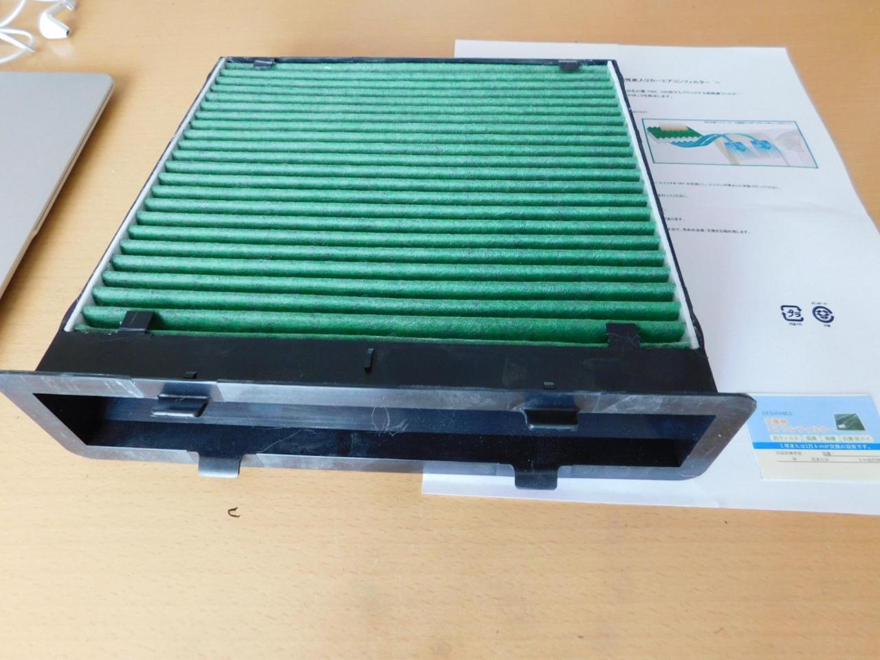 Desirable エアコンフィルター 特殊3層構造 活性炭入り
