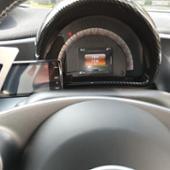 不明 車のステアリングホイールのシフトパドルのためのスマート451 453フォーツー2009 + フォーフォー2015 + カブリオレクーペアルミ合金シフト