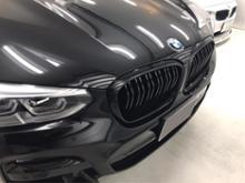 X3ALBERT RICK Auto Style BMW M-Look フロントグリル グロスブラック for BMW X3(G01)/X4(G02)の単体画像