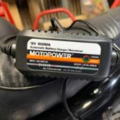 MOTOPOWER 充電器
