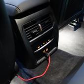 BMW(純正) 後席 エアコンパネルと送風口