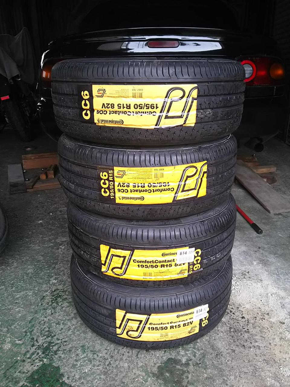 Continental ComfortContact CC6 195/50R15