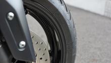 T-MAX530ヤマハ(純正) 純正ホイールの艶黒パウダーコート / 静電粉体塗装の全体画像