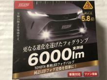 6000lm TOYOTA専用 LEDフォグバルブ