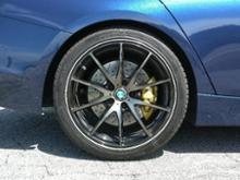 3シリーズ ツーリングRAYS VOLK RACING G25の全体画像