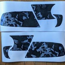フレアクロスオーバー自作 フロント バンパーガーニッシュ用シートの全体画像