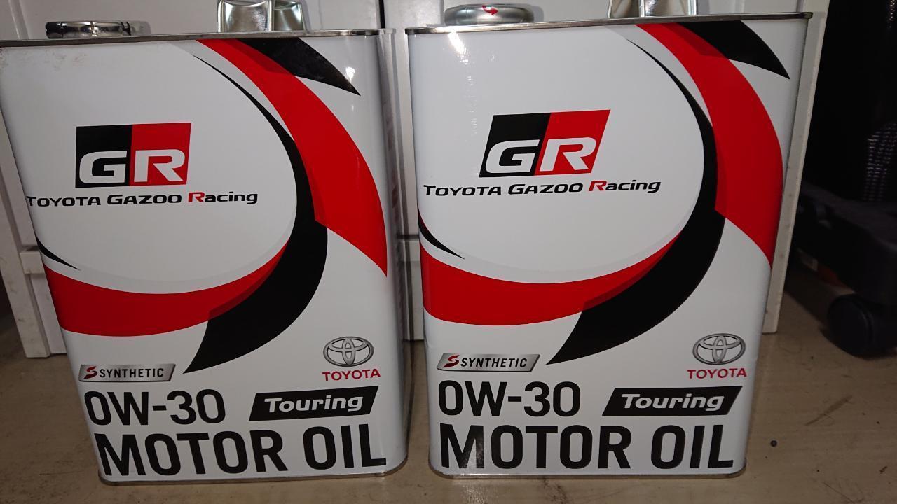 トヨタ(純正) GR Touring 0W-30