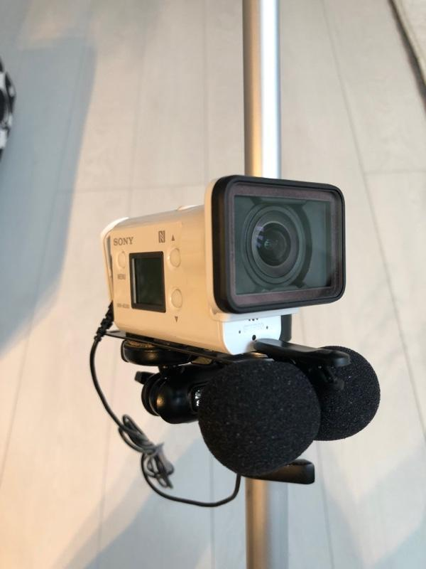 SONY HDR-AS300 オンボードカメラ
