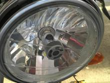 SRX400不明 ヘッドライト用 LEDバルブ H4の単体画像