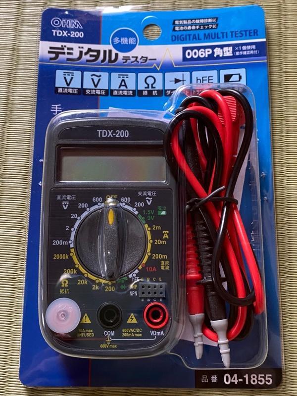 OHM / オーム電機 多機能デジタルテスター
