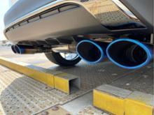 UXハイブリッドTOM'S エキゾーストシステム トムスバレルの全体画像