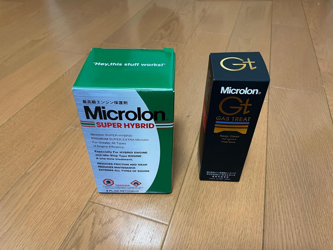 Microlon SUPER HIBRID  &  GAS TREAT