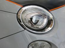 アバルト・500 (ハッチバック)DEPO 純正タイプ ヘッドランプ(FIAT500 後期ハロゲン仕様→LED化)の単体画像